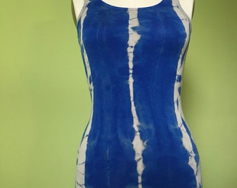 Beautifully bleached blue tank!