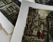 Set of 3 handmade Paris p...