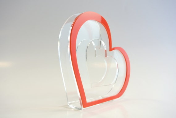 Red Hearts napkin holders Housewarming Paper holders Kitchen holder Mothers day gift Valentines day accessory Sweetheart table Gift for her