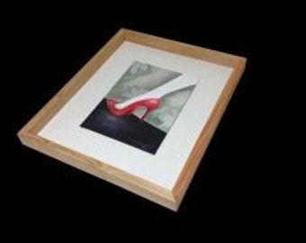 Hand Made Oregon Pine Picture Frame 50cm x 50cm