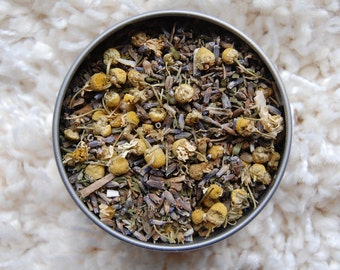 CATCH SOME Z'S Organic Herbal Tea Blend, Herbal Tea, Loose Herbal Tea