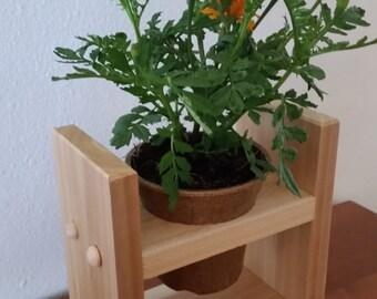 Planter Stand, Herb Garden, Indoor Garden Planter, Kitchen Herb Garden Planter
