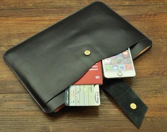 Leather 15 inch Macbook Pro sleeve, Macbook 15 sleeve, Macbook 15.6 case, Macbook Pro case, Macbook Pro sleeve, Laptop sleeve, laptop case