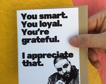 DJ Khaled Card, DJ Khaled, Gag Card, Sarcastic Card, Witty Cards, Funny Card, Funny Greeting Card, Greeting Card,Thank You Card, Funny Cards
