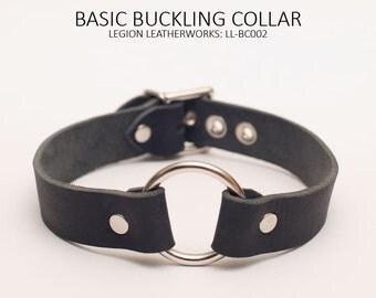 """Basic 1"""" Buckling Collar (LL-BC002): 1"""" Buckling Collar with O-Ring"""
