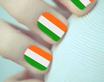 Flag Nail Wrap