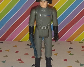 Vintage 1977 Kenner Star Wars Death Star Commander Figure Complete