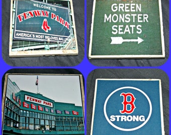 Fenway Park - Home of Boston Red Sox on Coasters!