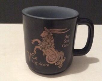 Vintage Blasbake Capricorn (the Sea Goat) Mug