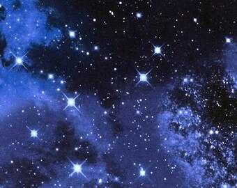 Nebula etsy for Galaxy nebula fabric