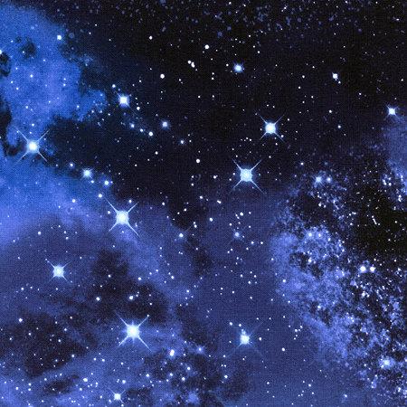 Space space galaxy fabric black stellar tula fabric for Galaxy fabric canada