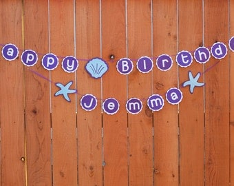 Under the Sea Party Decoration, Under the Sea Banner, Under the Sea Birthday, Under the Sea Baby Shower, Custom Parties by PartyAtYourDoor