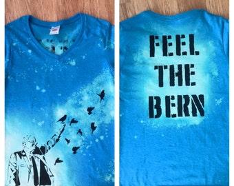 "Bernie Sanders Birds For Bernie ""Love Trumps Hatred"" T shirt (4 designs)"