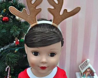 Antler Headband - 18 inch Doll Clothes