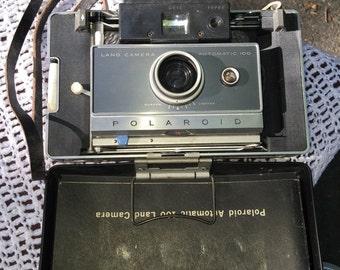 1964 Polaroid Automatic 100 Land Camera, & Accessories