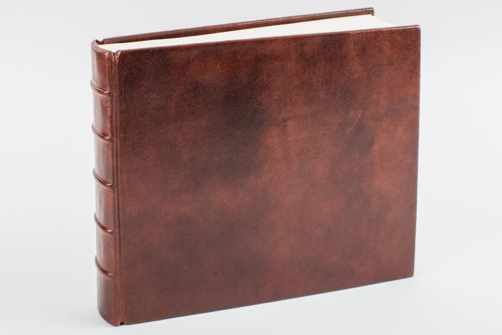 marble brown leather photo album. Black Bedroom Furniture Sets. Home Design Ideas