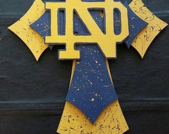 Notre Dame Wall Cross