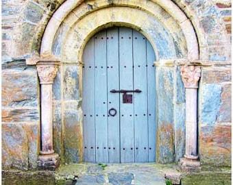 blue door, Paris print, Paris, Paris Decor, Paris art, Paris wall art, Paris photography, Paris poster, wall art, home Decor