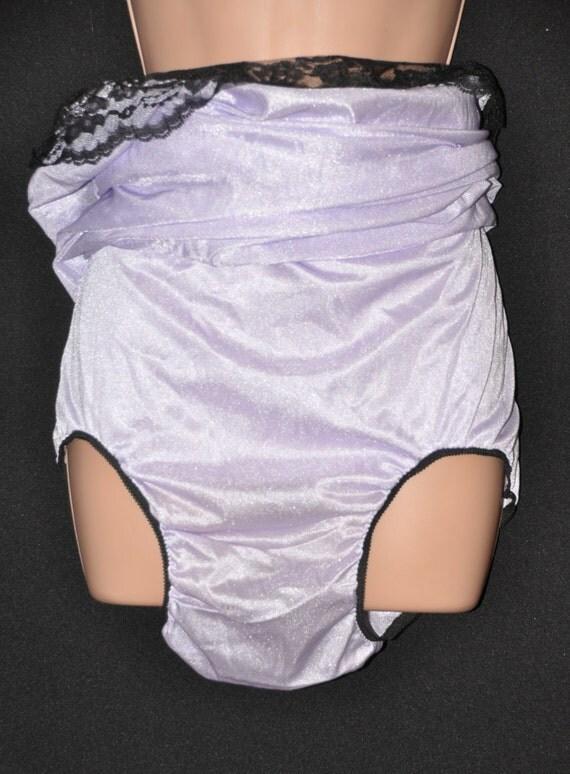 Silky Nylon Panties 72