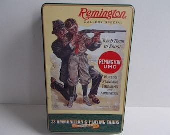 Remington Collectible Tin