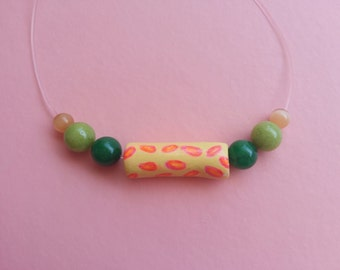 Necklace Neon minimal chic