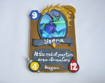 Ysera card inspired by Hearthstone game.