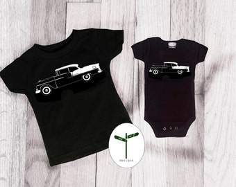 Father Son/Daughter Matching 55 Chevy Bel Air Shirts