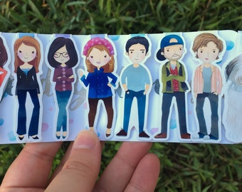 Stars Hollow Magnetic Bookmarks