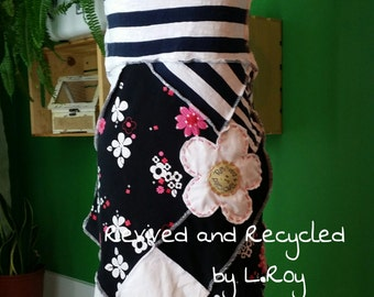 No. 133 - Shabby Chic Eco Friendly Recycled Dress - Size S