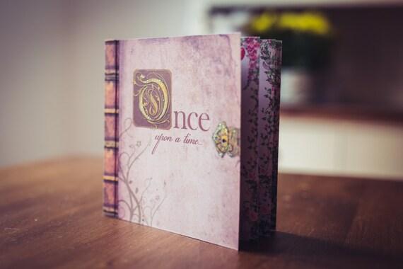 Fairytale Invitations Wedding: Fairy Tale Wedding Invitation Booklet Fairy Story Invite In