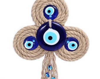 Evil Eye Shamrock Wall Decor - HP093