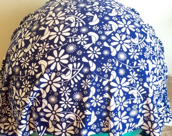 Birth Ball Cover with Handle, Exercise/Yoga Ball Cover, Birthing Ball Cover, Ball Cover - BLUEBIRDS made to order