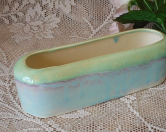 Vintage Diana Australia Vase - 1950s Trough Shaped