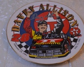 Davey Allison 1993 Collector Plate Havoline Texaco 8 1/2 Inch Decorative Plate Wall Decor Nascar Dad Gift