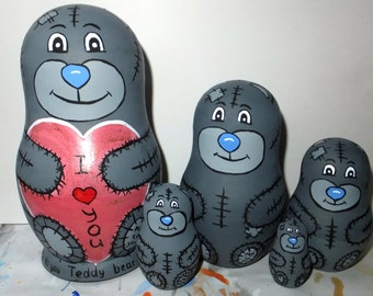 Russian doll Matryoshka Teddy bear