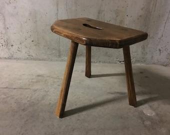 Tripod stool wood