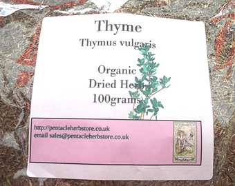 Thyme - organic dried herb