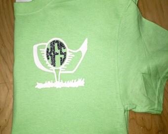Womans Golf Shirt - Monogram Golf Shirt