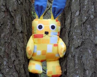 Stuffed Rabbit Pattern and Tutorial / Bunny Sewing Pattern PDF/ Stuffed Animanl Pattern