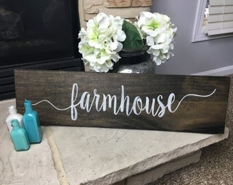 Farmhouse Sign-- Rustic Sign-- Kitchen Sign-- Rustic Decor-- Farm House Decor--Wood Sign-- Home Decor