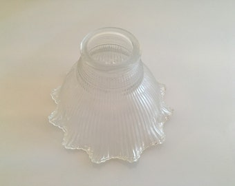 Vintage glass lamp shade! Never used!