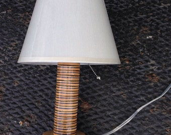 Recycled Skateboard Lamp