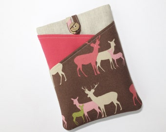 Kindle Case, Kindle Paperwhite Sleeve, Kindle Fire Cover, Kindle Voyage Case, Paperwhite Cover, Kindle Touch Case, Paperwhite Case, Deer