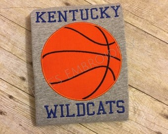 Kentucky Wildcats basketball tee