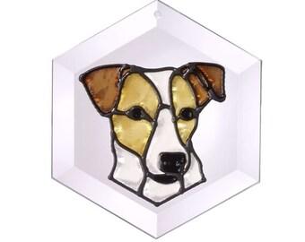 Jack Russell Terrier Suncatcher