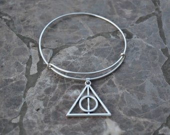Harry Potter Expandable wire bracelet Deathly Hallows