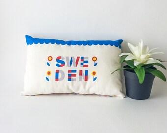 Sale 50%, small pillow, stuffed pillow, decorative pillows, sweden decor, travel pillow, baby pillow, kids pillow, nursery room decor