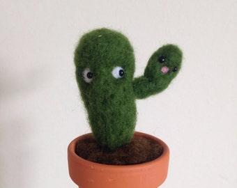 Mini Cactus Soft Sculpture