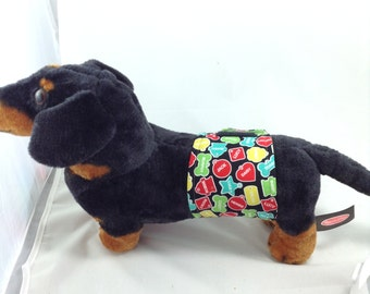 Male Dog Belly Band - Dog Diaper - Dog tags Puppy Training Help