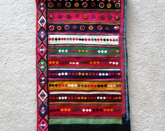 Tapestry Wall Hanging / Boho Wall Art / Moroccan / Colorful / Home Decor / Hippie / Textile Wall Hanging / Indian / Handmade